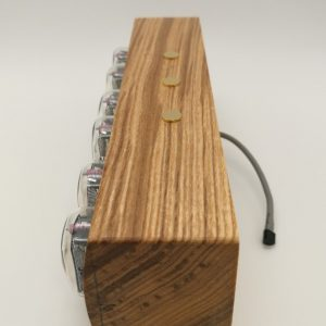 Ash tree wood finish Nixie Clock