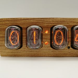 Close up of Messenger IN-12 Nixie Clock