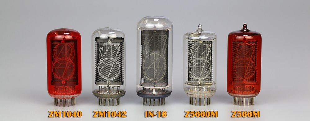 Omnixie Plus Compatible Nixie Tubes
