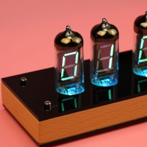 Assembled IV-11 VFD Nixie Clock