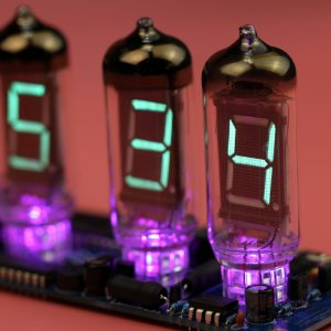 VFD Nixie Tube DIY Clock IV-11 PCB with IV-11 tubesVFD Nixie Tube DIY Clock IV-11 PCB with IV-11 tubes